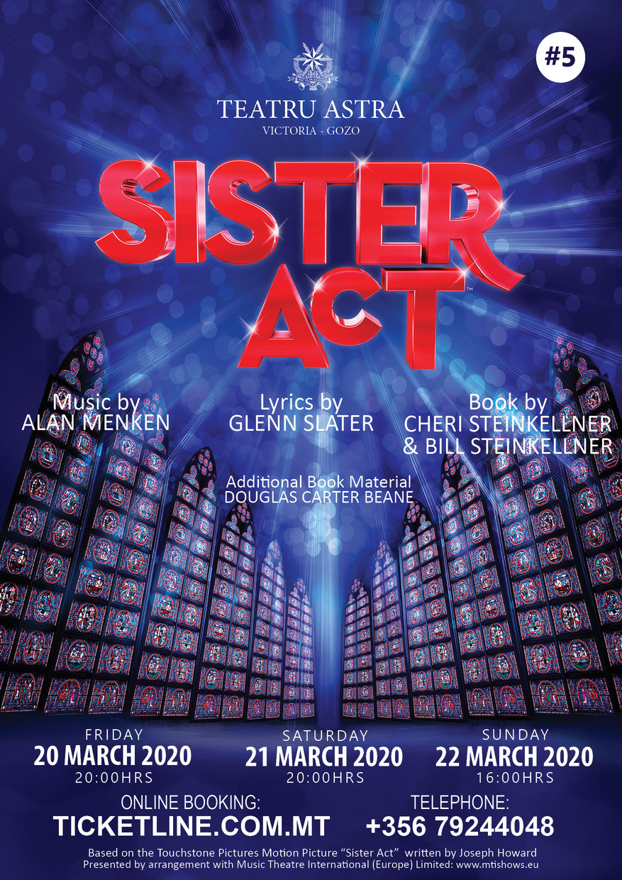 sister act 2019 poster