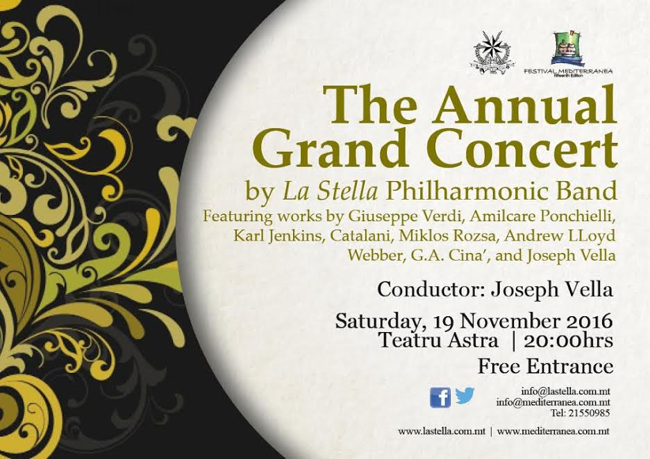the annual grand concert 2016