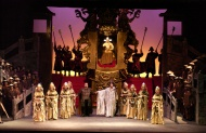 Students' Scheme for Aida at the Teatru Astra