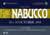 Nabucco for 2014 in Gozo