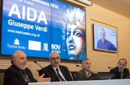 Teatru Astra and Bank of Valletta officially launch the opera AIDA, the highlight of Gozo's Autumn Festival
