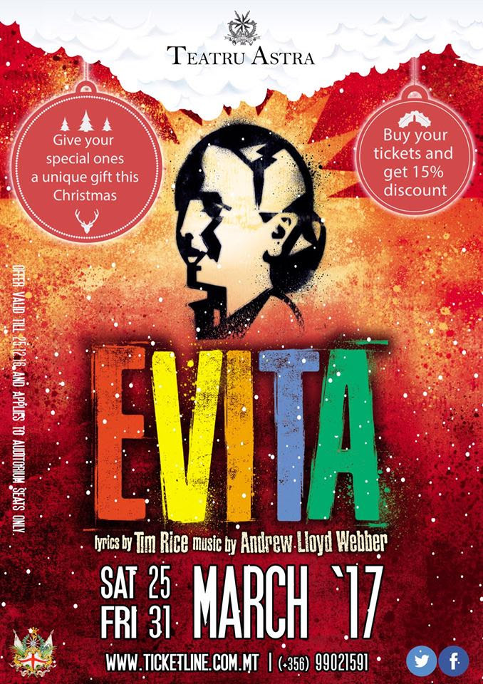 evita poster christmas discount